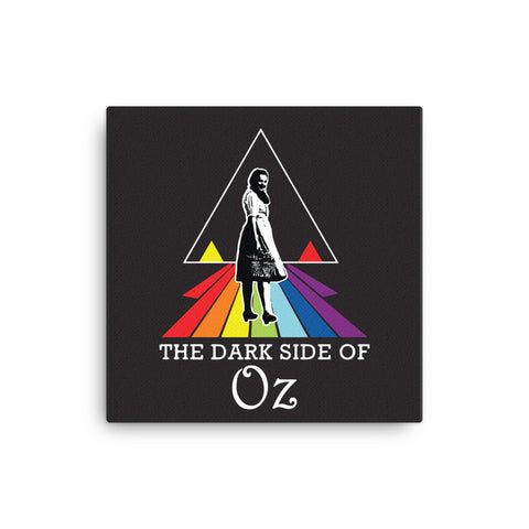 Dark Side of Oz Canvas - CD Universe Apparel