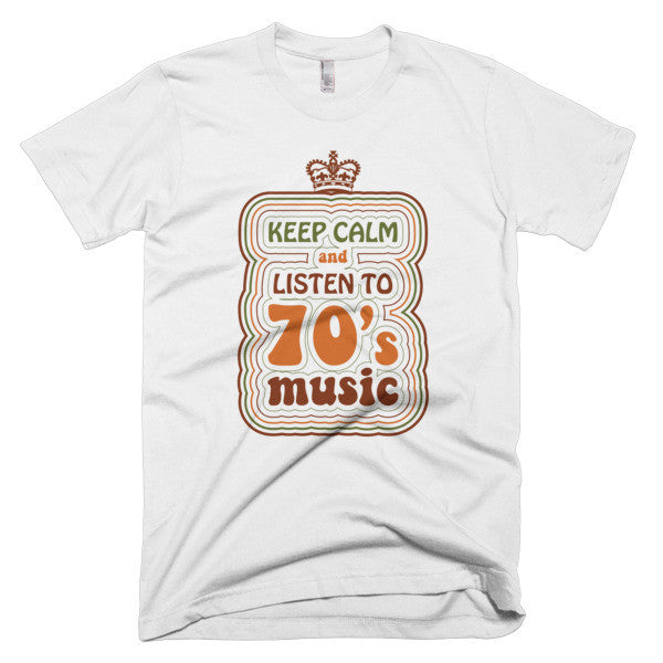 Keep Calm 70's - CD Universe Apparel