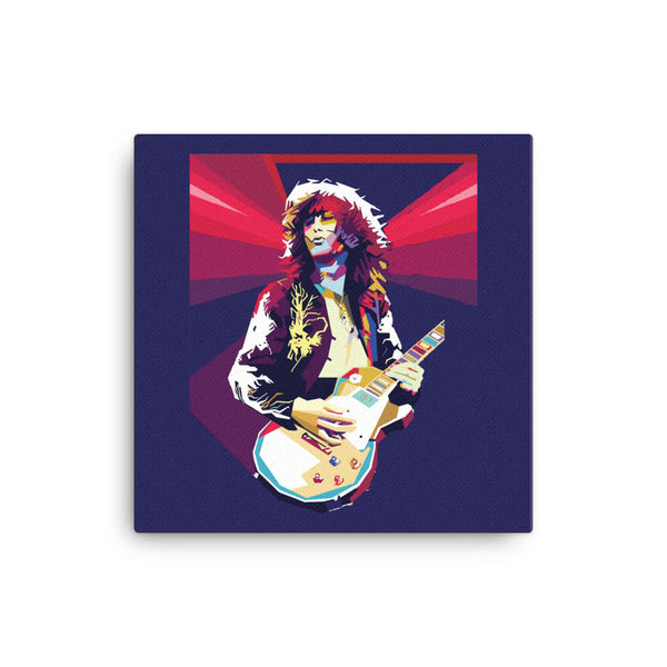 Jimmy Page Canvas - CD Universe Apparel