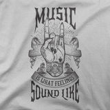 Music is what feelings sound like - CD Universe Apparel