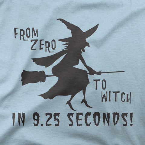 From zero to witch in 9.25 seconds! - CD Universe Apparel