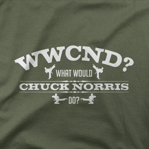 What would Chuck Norris do?