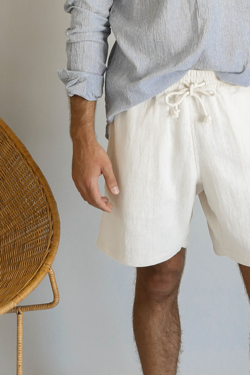 JOSEF SHORTS | NATURAL