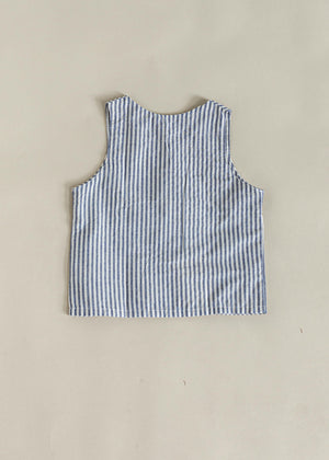 NOAK TOP | NAVY STRIPE