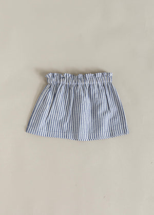 NETTY SKIRT | NAVY STRIPE