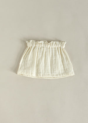 NETTY SKIRT | OFF WHITE
