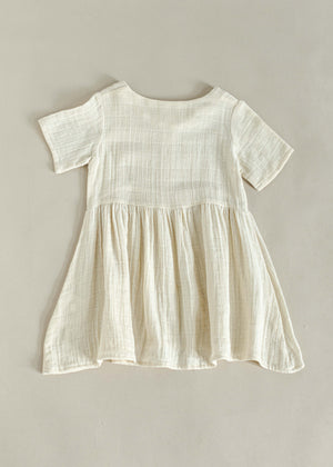 FRANCIS DRESS | OFF WHITE