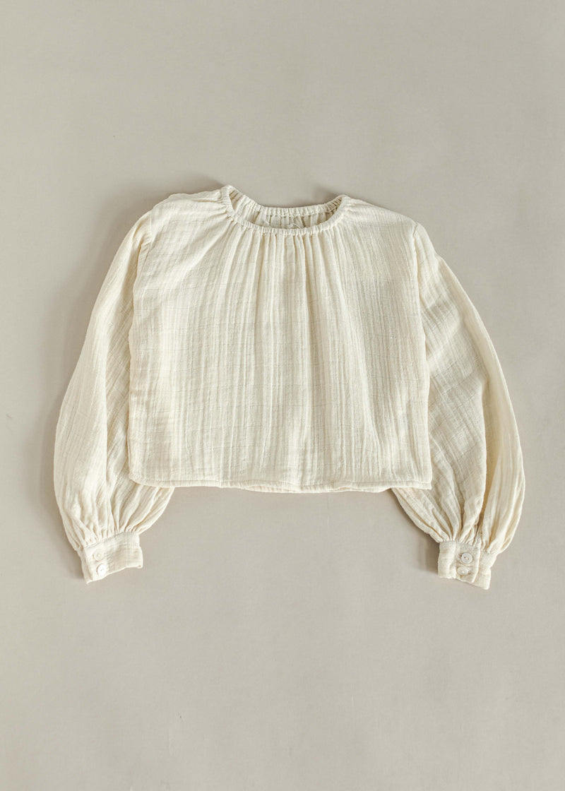 BASILE BLOUSE | OFF WHITE