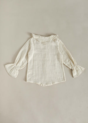 YOLANDE BLOUSE | OFF WHITE