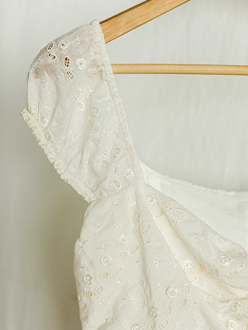SOLANGE DRESS | BRIDAL WHITE