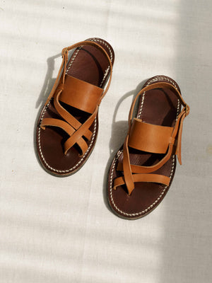 ARTISAN LEATHER SANDALS