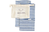 MINI CARRIER IN FRENCH STRIPE