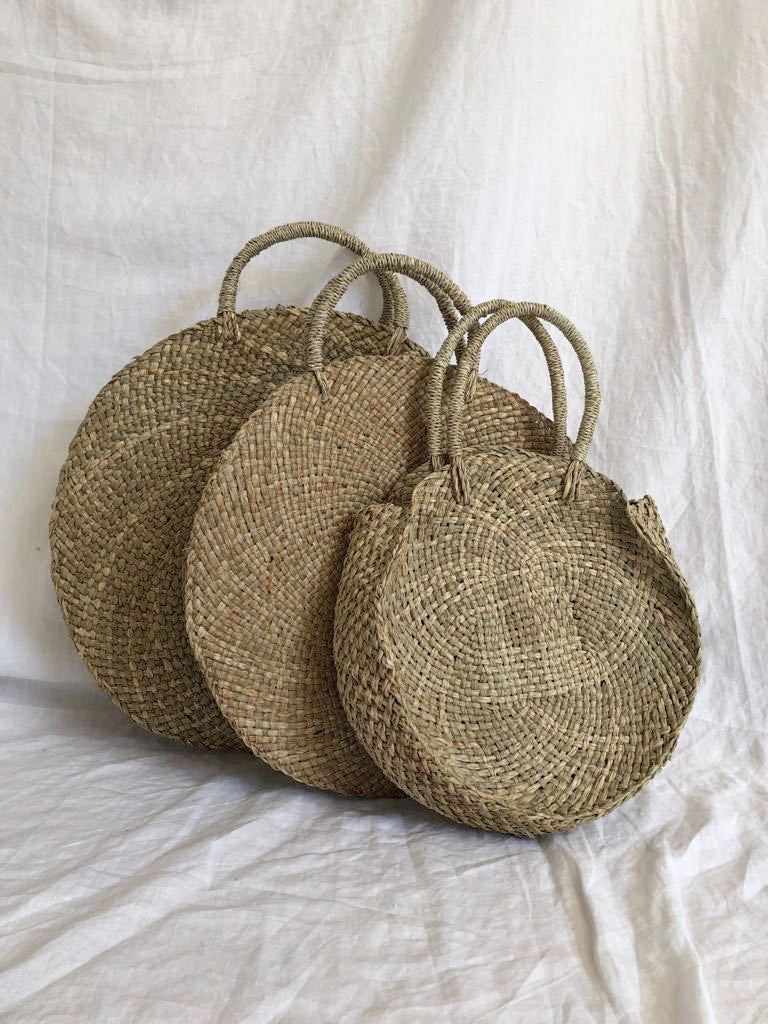 STRAW BAG | NATURAL