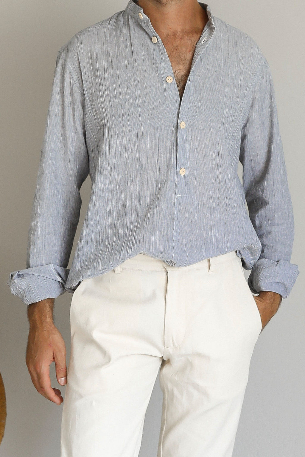 YALMA SHIRT | FRENCH STRIPE