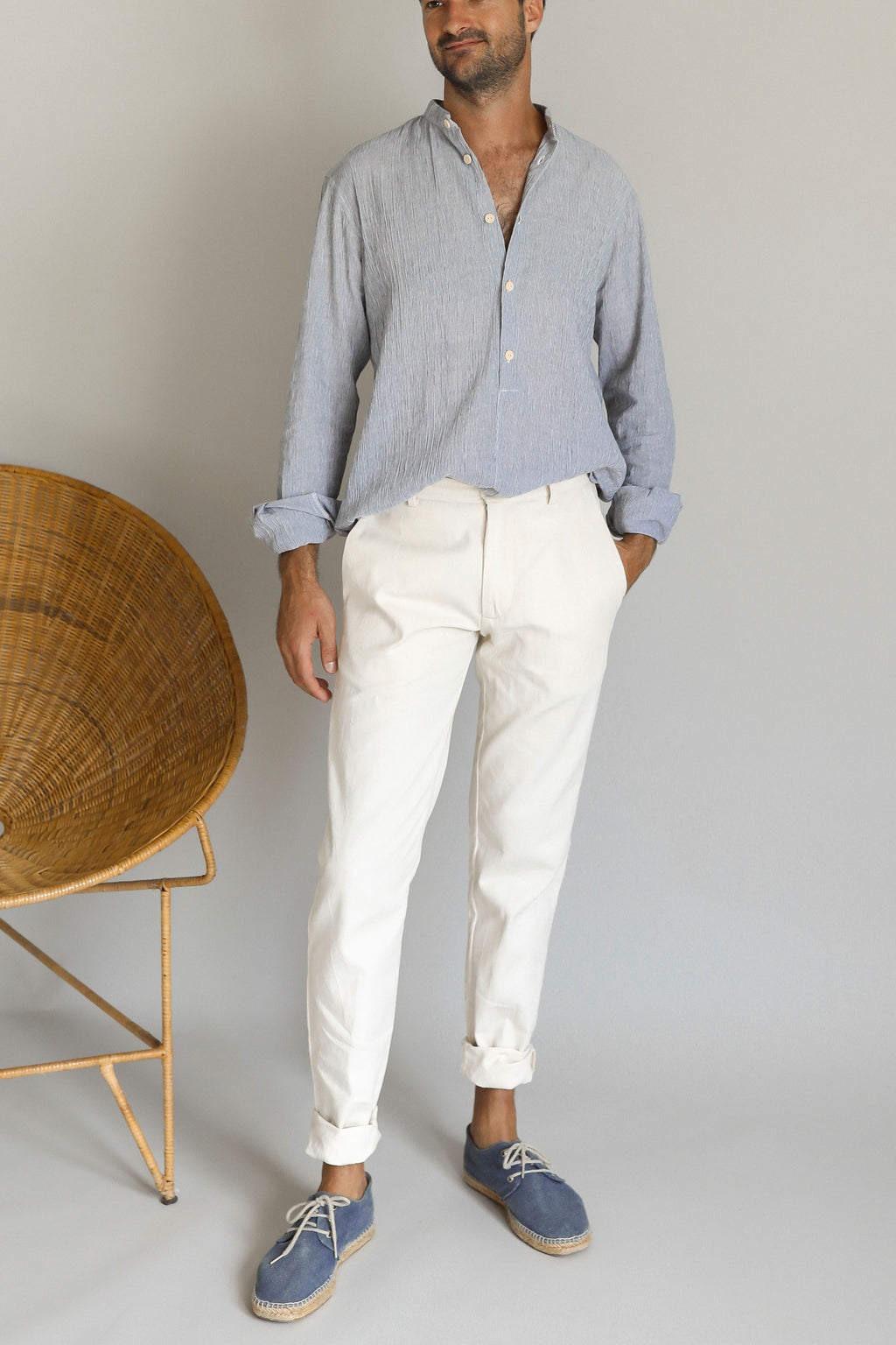 BAIER TROUSER | OFF WHITE