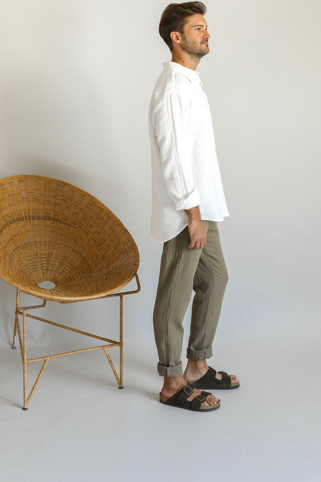 MOSES TROUSER | DRIED HERB