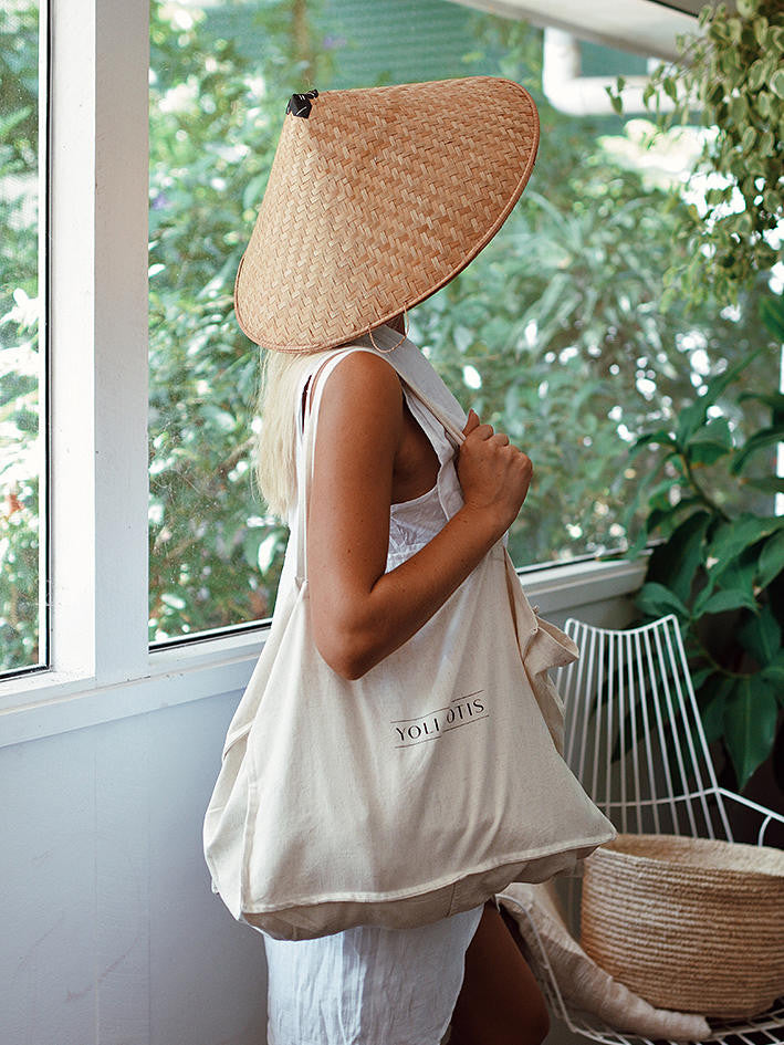 TOTE BAG IN OATMEAL