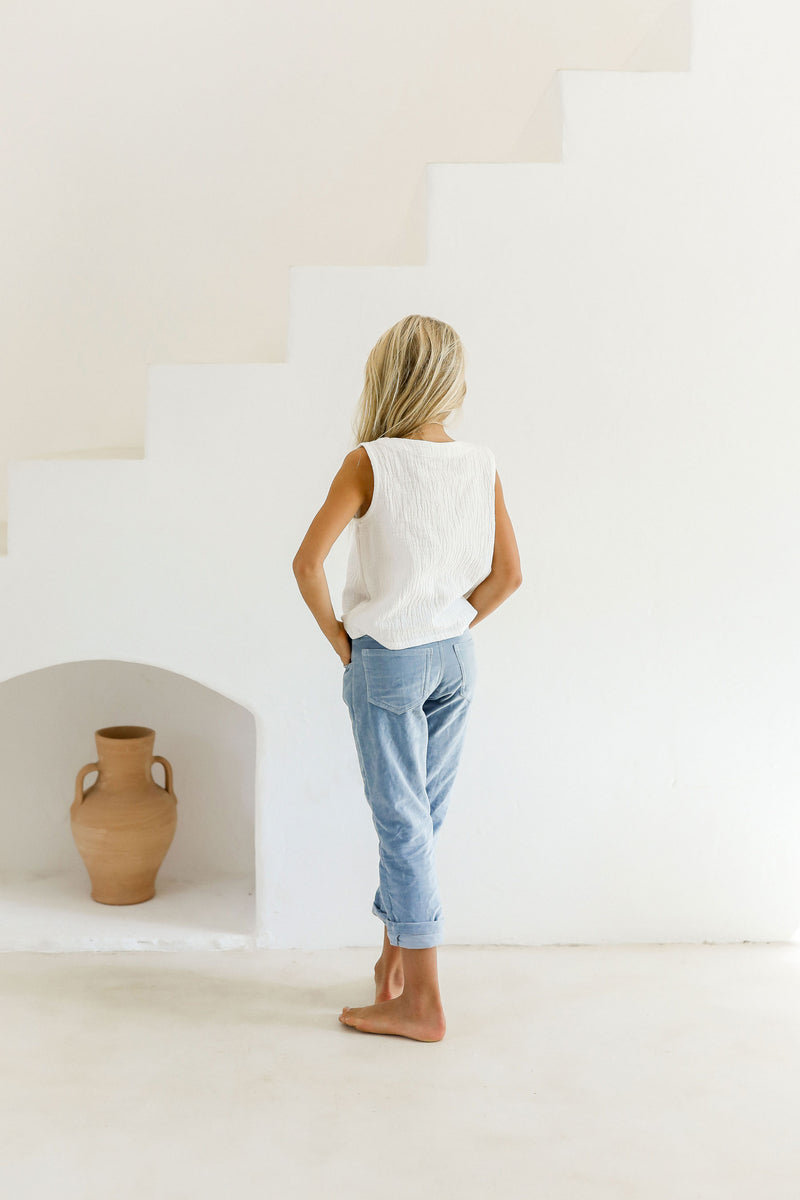 PENNY TROUSERS | SWEDISH BLUE