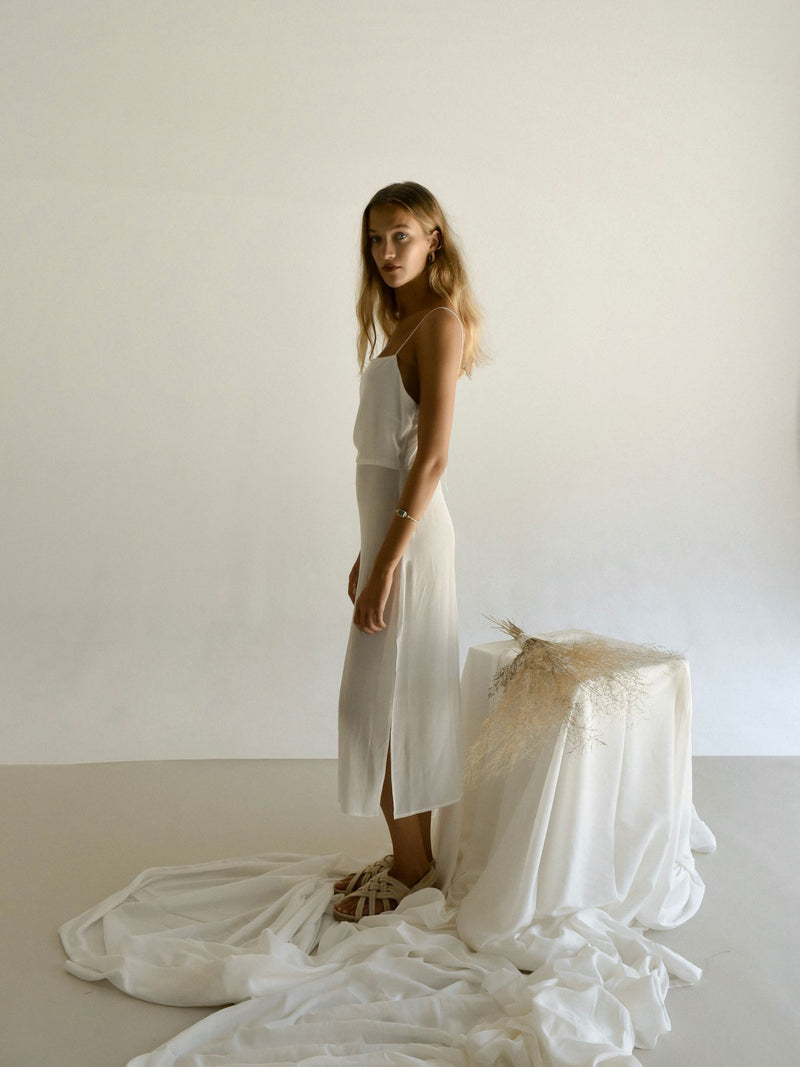 CAMILLE DRESS | UNDYED