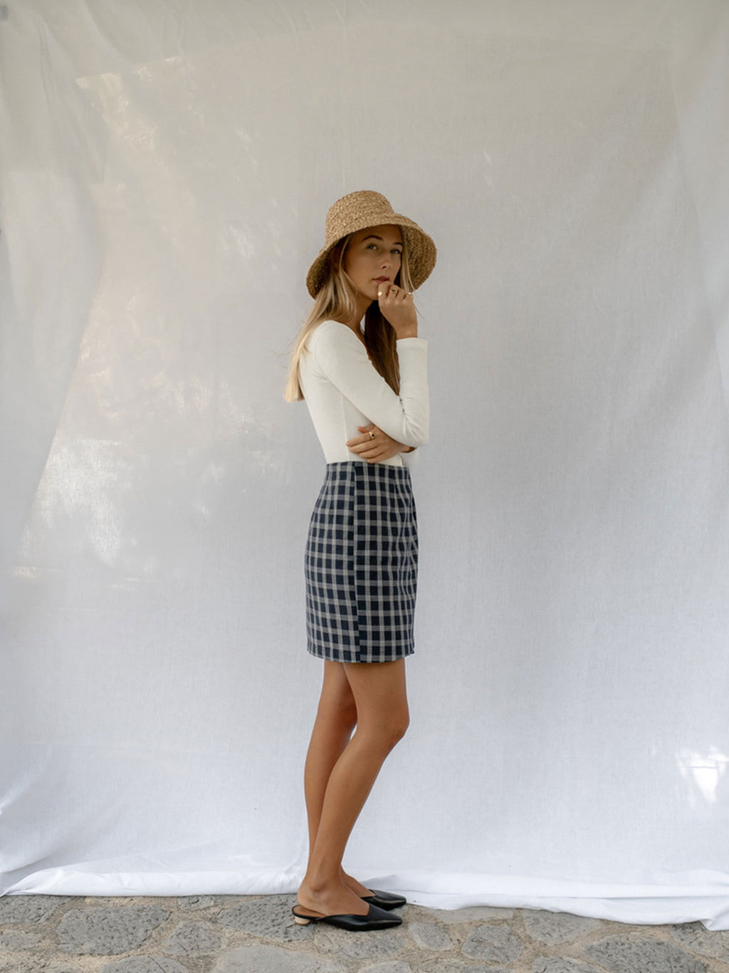 LOIS SKIRT | PLAID