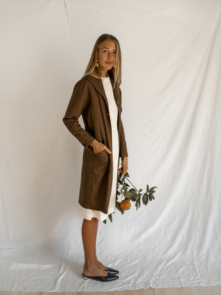PIPPA JACKET DRESS | FOREST GREEN