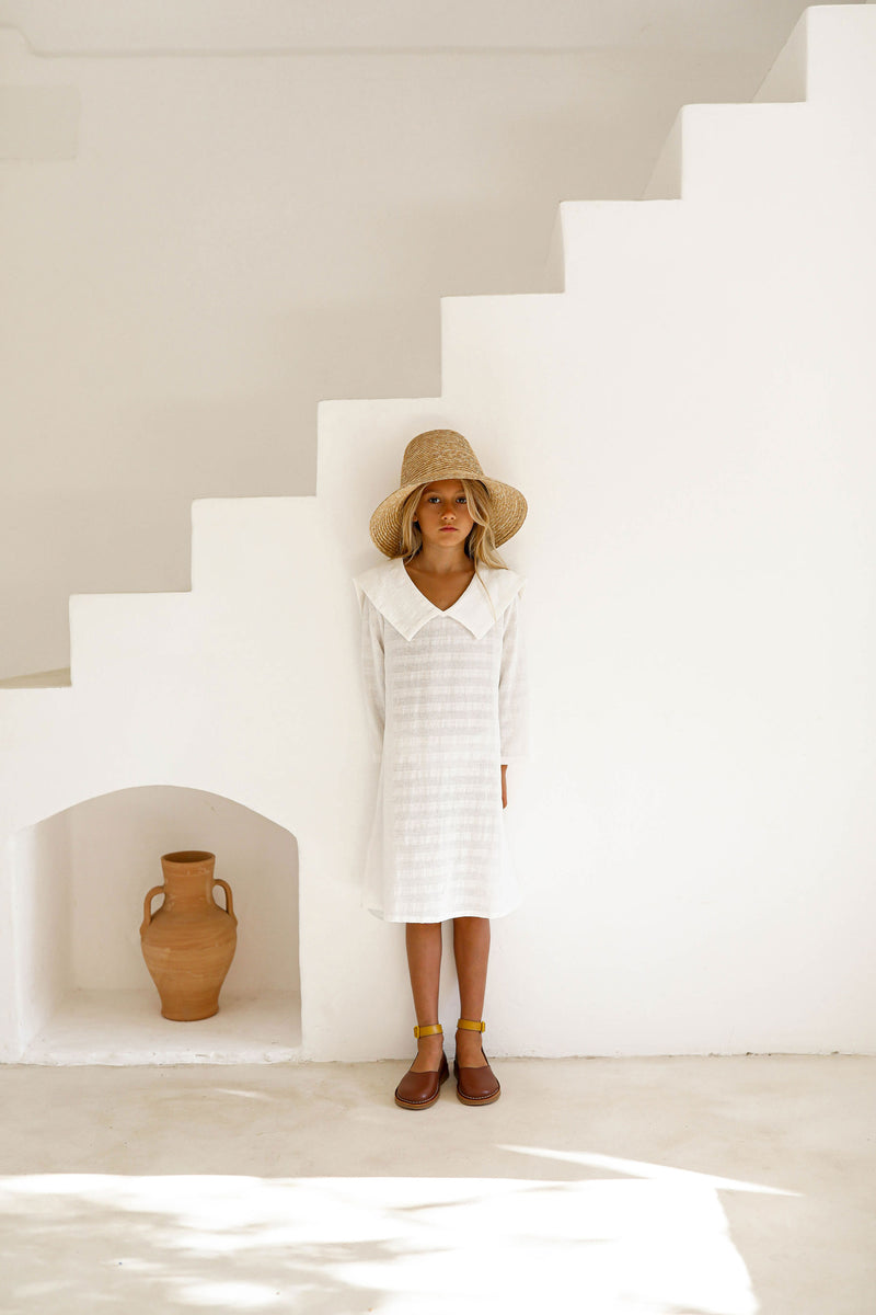Emiliana Dress | White