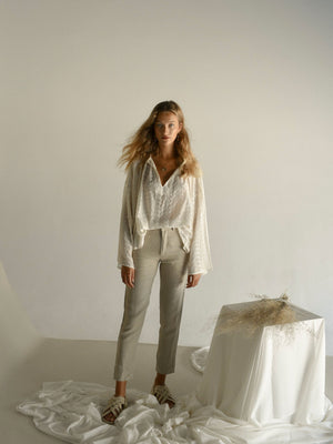 FELICITY TROUSERS | NATURAL