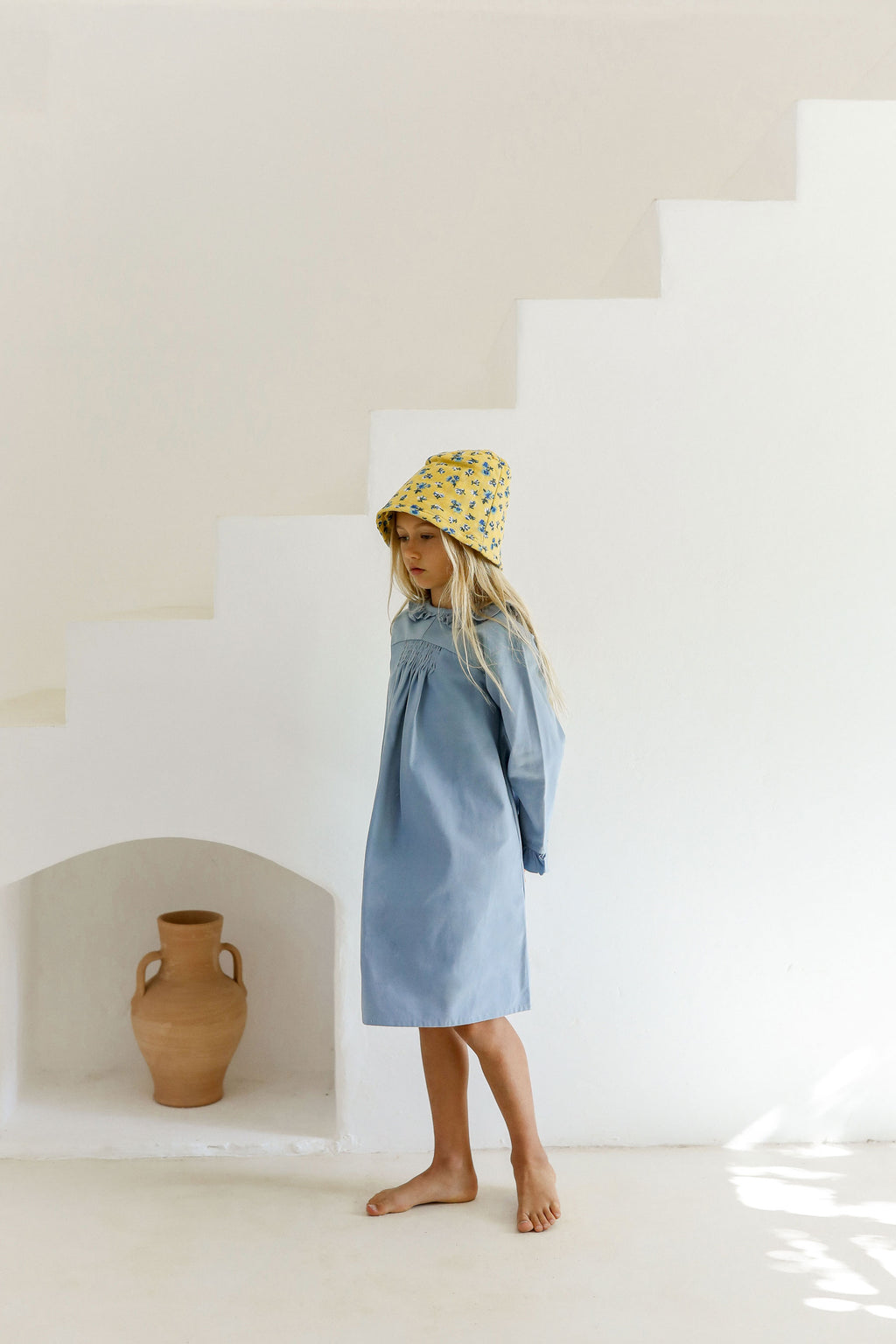 PRE-ORDER | GHANI DRESS | SWEDISH BLUE