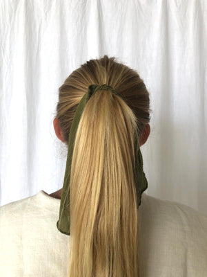 HAIR TIE | MARTINI OLIVE