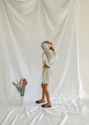 HARU SHORTS | LAUREL CHECK