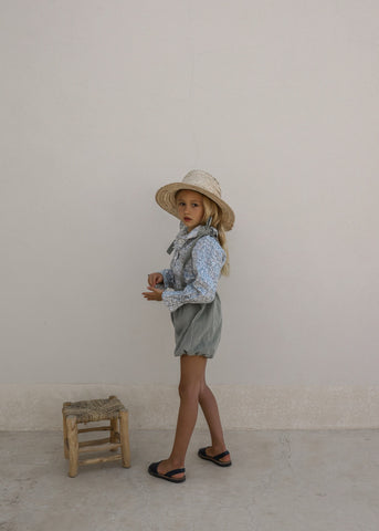 PRE-ORDER | HARU SHORTS | LAUREL CHECK