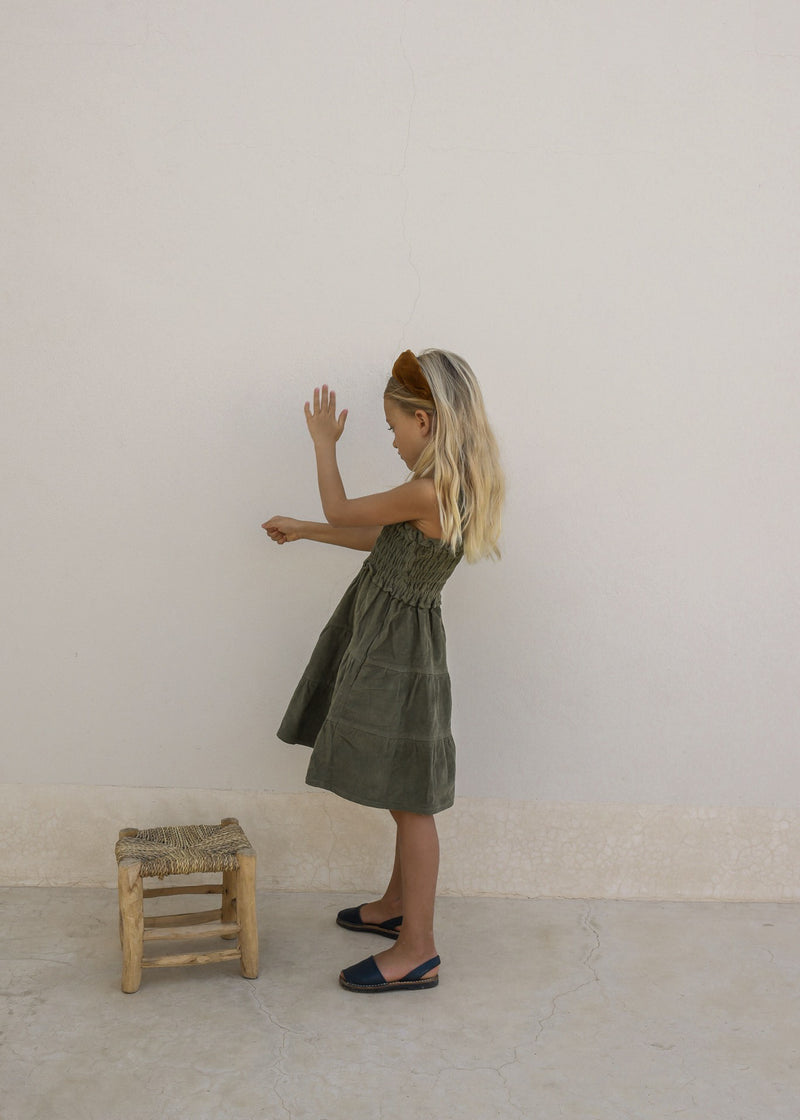 ELODIE DRESS | MARTINI OLIVE