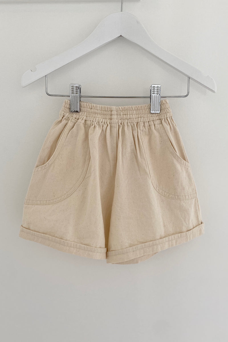 ARNOR SHORTS | UNDYED DENIM