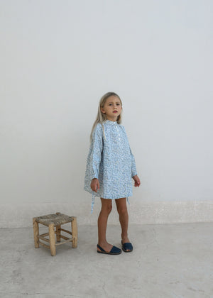CLÉO DRESS | AZURE FLORAL