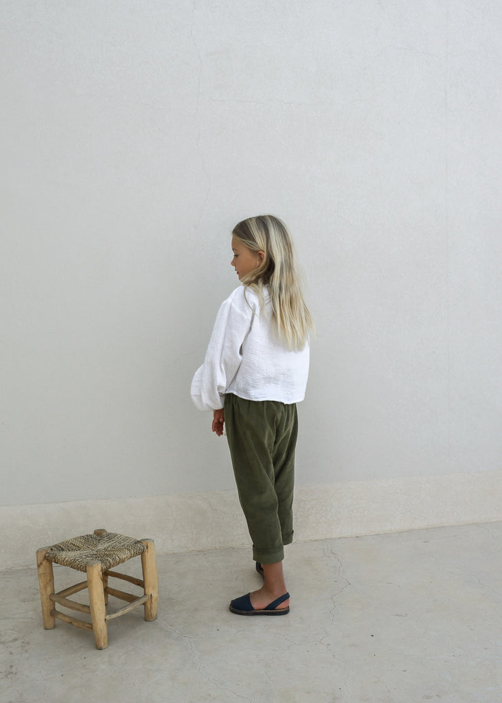 BASILE BLOUSE | WHITE