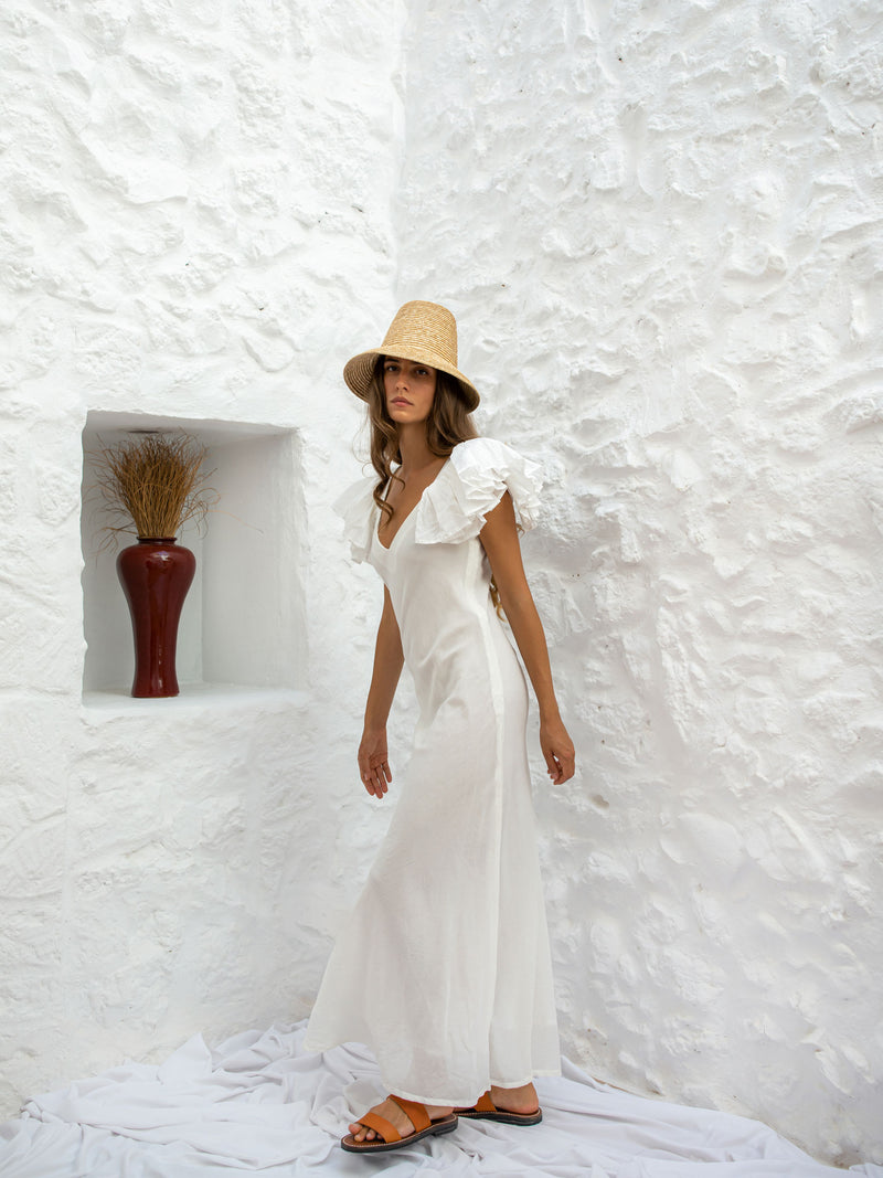 IDOYA DRESS | WHITE