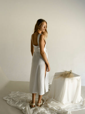 JAALA DRESS | WHITE