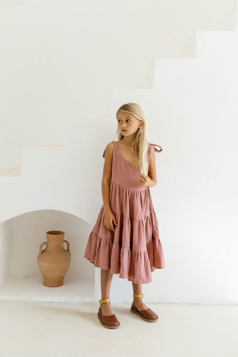 PRE-ORDER | JAANA DRESS | BLUSH