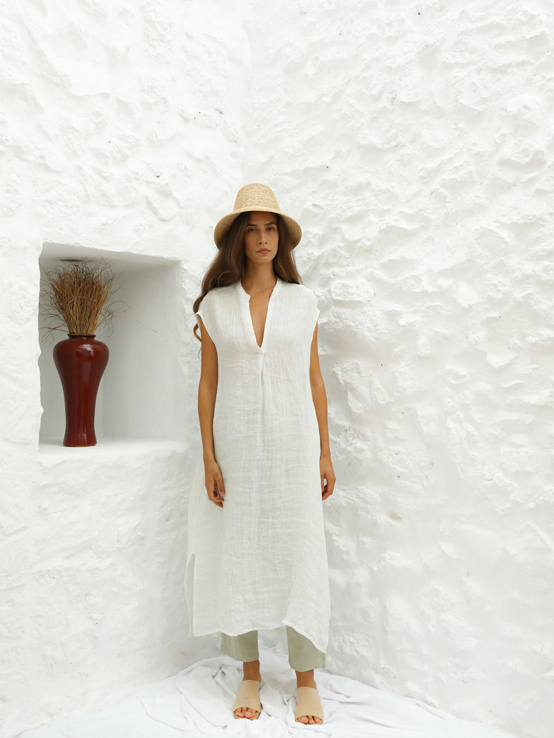 PRE-ORDER | JEREMÍAS DRESS | WHITE
