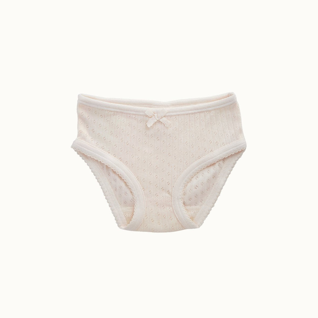 Nature Baby Pointelle Girls Underpants