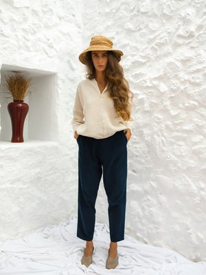 RÁUL TROUSERS | NAVY