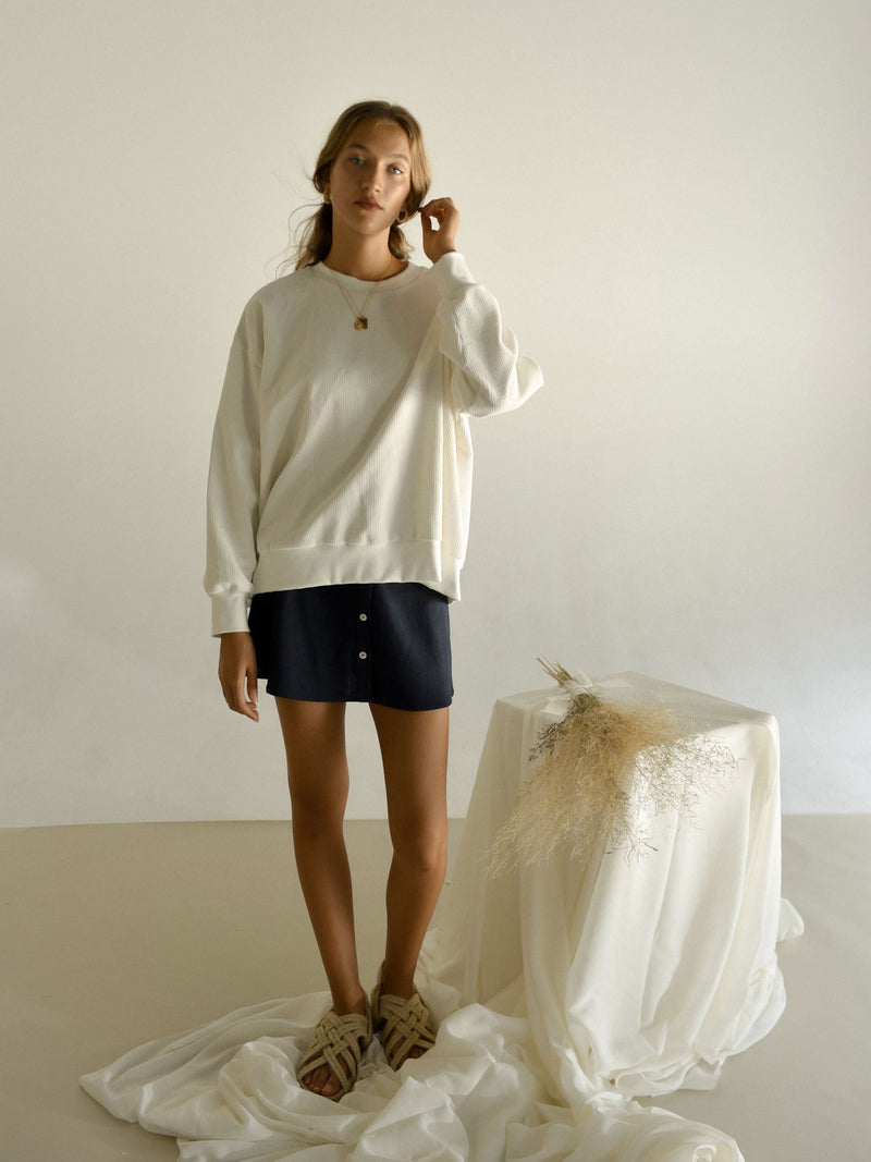 ROSALIE JUMPER | WHITE