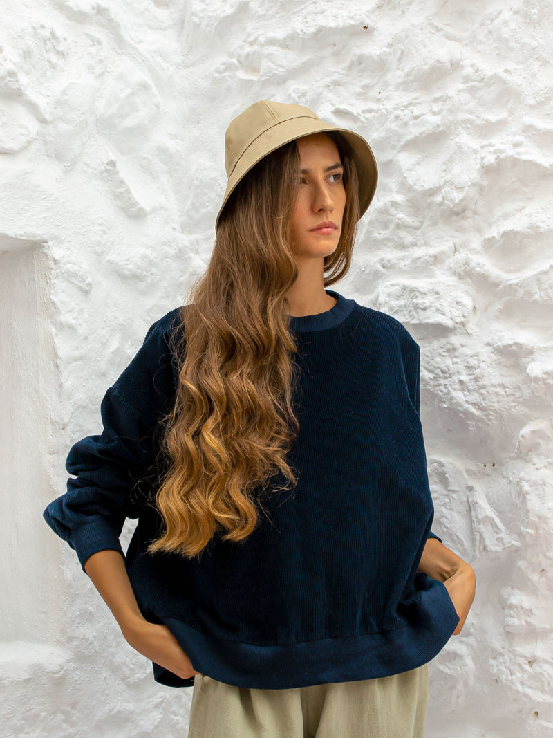 ROSALIE JUMPER | NAVY