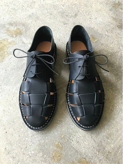 STEVE MONO | UNISEX | ARTISANAL SHOES | BLACK 10/05