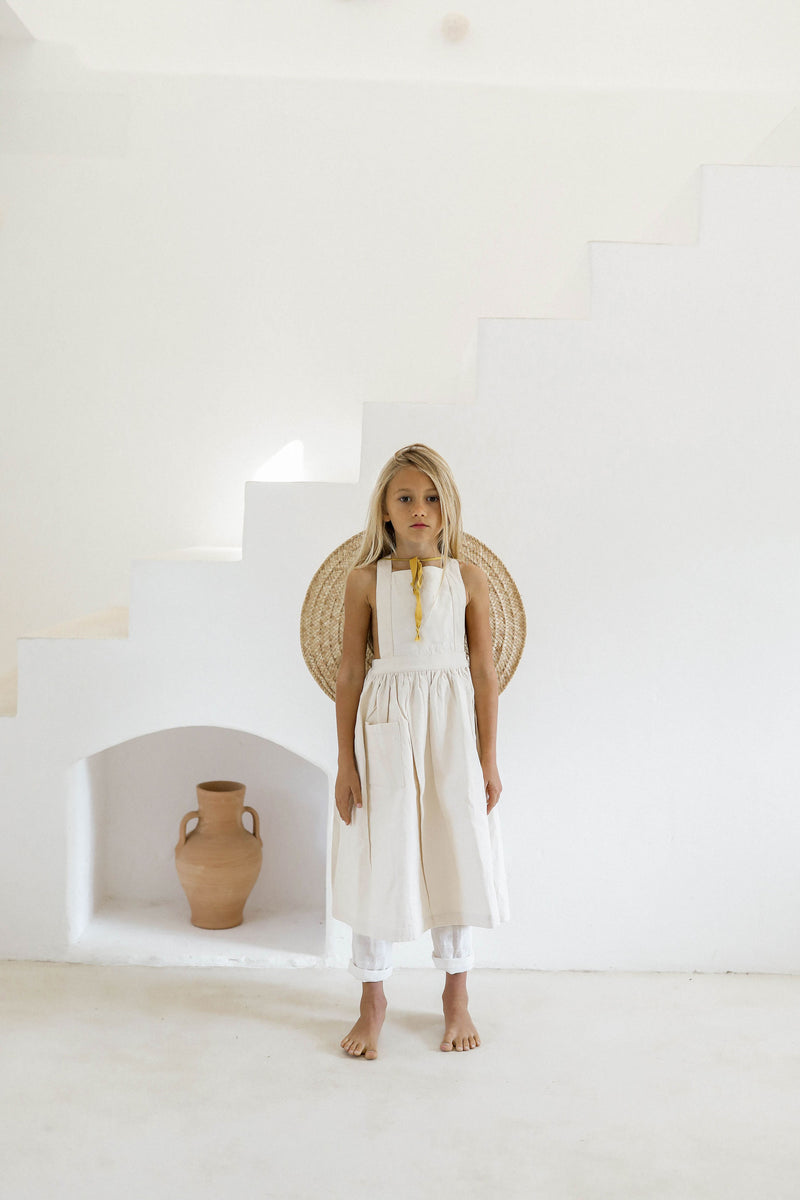 VALERIANE DRESS | UNDYED