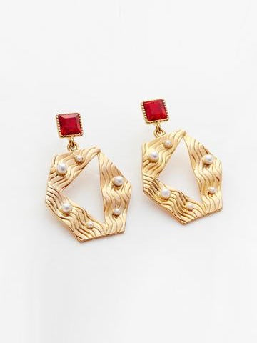 RELIQUIA | WATER AND FIRE EARRINGS
