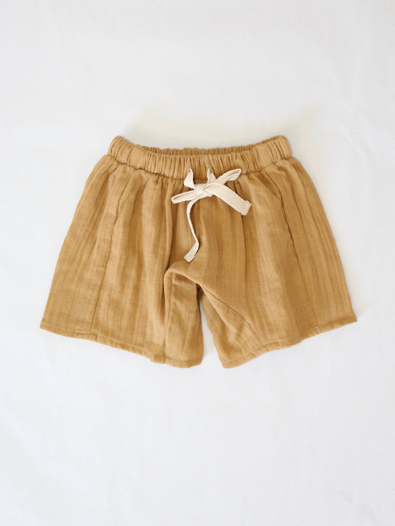 HARU SHORTS | Dark tan