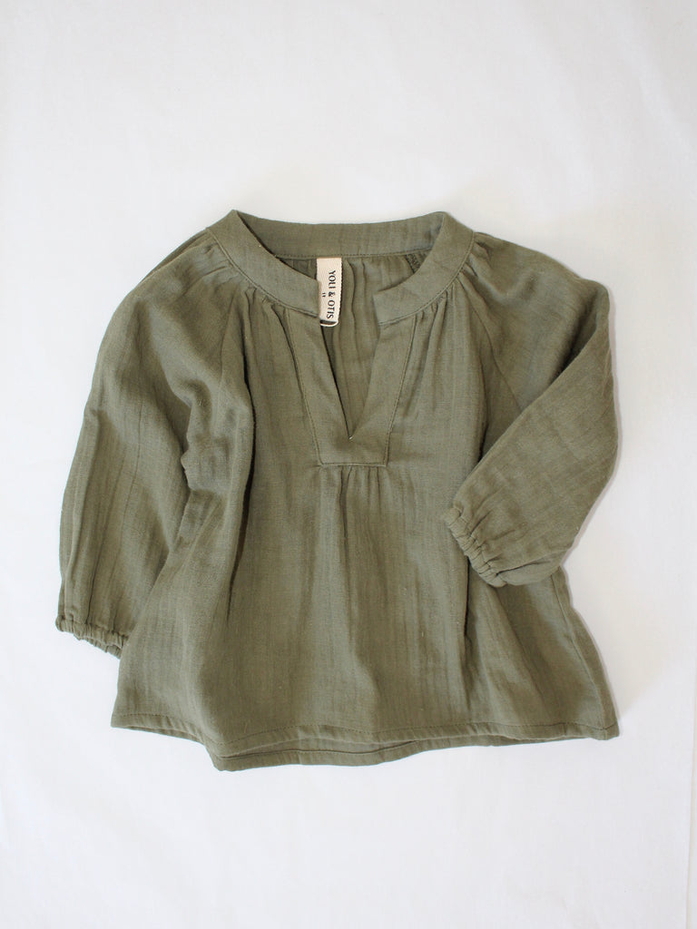 MINI DANNE BLOUSE | Dried herb