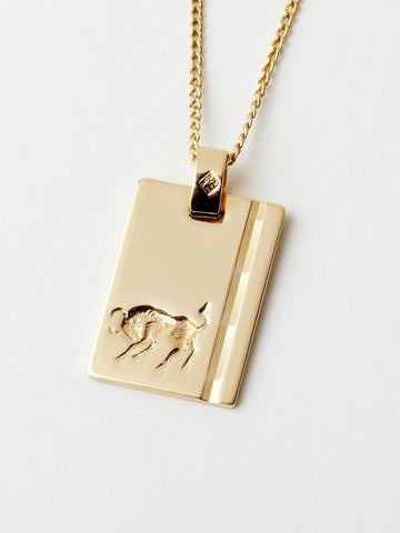 RELIQUIA | GOLD STAR SIGN NECKLACE | TAURUS