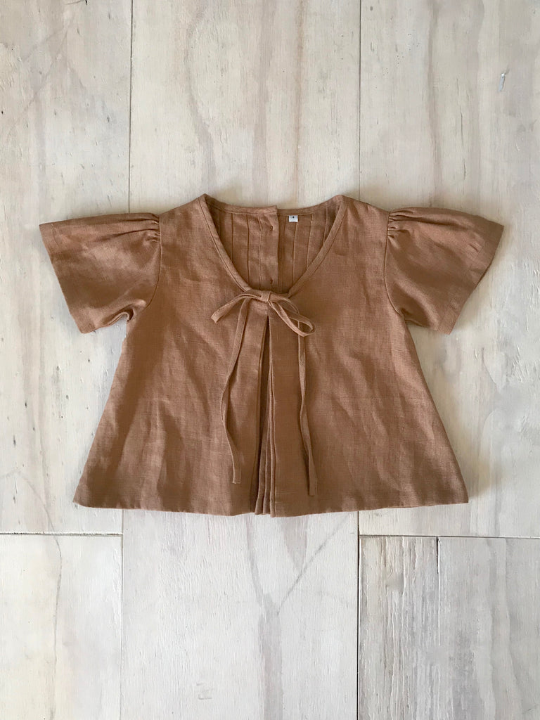 ANÓR BLOUSE | RUST